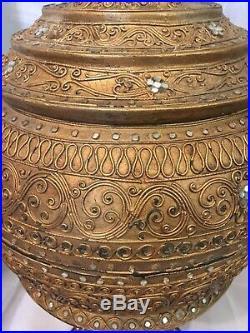 Large Impressive Islamic/ Persian Shrine, Display Centre-Piece 106cm