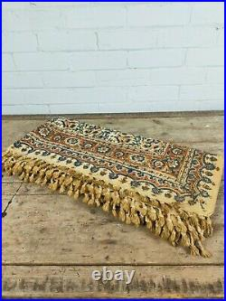 Large Middle Eastern Hand Printed Throw 100cm x 200cm