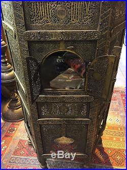 Magnificient Orientalist Ottoman Arabic Islamic Huge Harem Quran Table