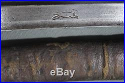 Moroccan nimcha sword with Passau wolf mark and beautiful handle 18th 19th