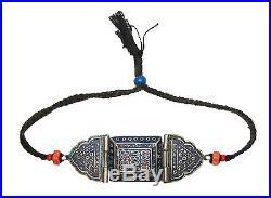 Multan Pakistan enamelled Bazu band armlet bracelet Emaille oberarm Amulette N1