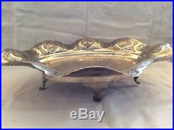 Museum Quality solid silver 84 Persian Islamic tray / bowl hand chased