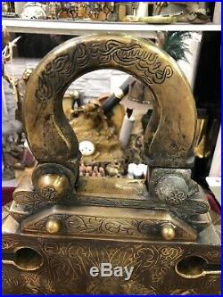 Orientalist Ottoman Style Islamic Huge Harem Lock Padlock
