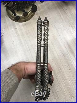 Orientalist Turkish Arabic Islamic Silver Inkwell Hattat Set Writer Set