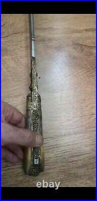Ottoman Empire Antique Yataan Sword