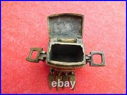 Ottoman Gun Powder Flask / Cartridge Box 18. /19. Th Century