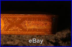 Ottoman Qalamdan, Persian Paper Mache Penbox, Islamic Art, Arabic, Calligraphy