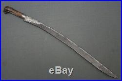 Ottoman yatagan sword Ottoman empire, 18th-19th century