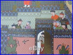 PERSIA PAHLAVI PERSIAN MINIATURES & ILLUMINATIONS SHAHNAMEH Bâysonghori RARE
