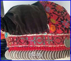 Palestine Ramallah Bethlehem Nablus Shatweh Traditional Bride Headdress Handmade