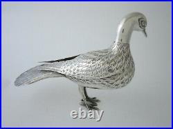 Persian Silver Peacock 1967-1979 by Sevan