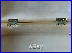 RARE Large Antique Engraved Alabaster Table Box / Casket Grand Tour