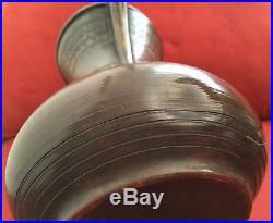 Rare Antique Copper Islamic Arabic Dallah Turkish Coffee Tea Pot Signed