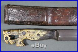 Rare Berber sword (sabre) from Southern Morocco Morocco, 19th century