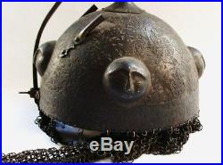 Rare Islamic Antique Helmet 16th