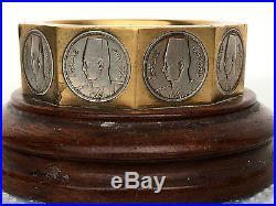 Rare King Farouk Egypt Ashtray With Coins Egypt Middle Eastern Islamic Egyptian