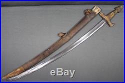 Rare Tuareg sword with a Solingen blade Sahara area, 18th century