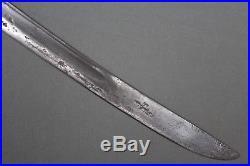 Rare and impressive Tuareg sword with Solingen blade Sahara area, 18th century