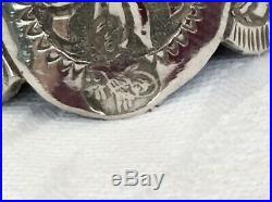 Set Of Six Ottoman Silver Zarfs