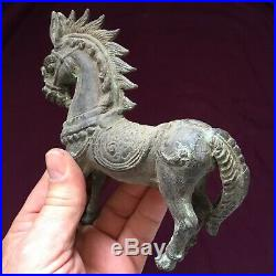 Superb Ancient Near Eastern Bronze Horse C 4th 6th Cent AD From. Persia