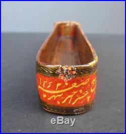 Superb Persian Paper Mâché Pen Box (Qalamdan) Signed-Dated 1846-Islamic/Turkish