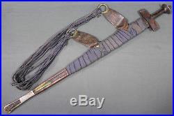 Superb Tuareg takuba sword (sabre) North Africa, first half 20th century