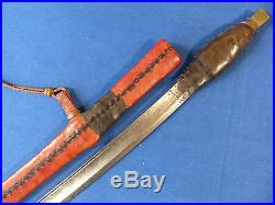 Tuareg Islamic sword with European blade (sabre dagger) North West Africa 19th