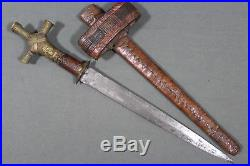 Tuareg arm dagger called gozma North Africa, 19th first half 20th century
