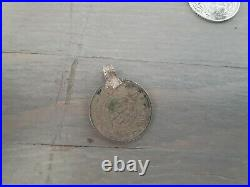 VERY RARE LOT OTTOMAN JEWELRY WITH COINS ANTIQUE ISLAMIC SILVER STRLING pendant