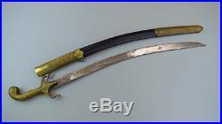Very Nice Turkish Military SHAMSHIR Sword
