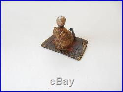Vienna Cold Painted Bronze Depicting Arab Smoking Shisha Pipe Namgreb