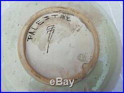 Vintage 1920's/30's Balian Armenian Jerusalem Pottery Plate Palestine Israel