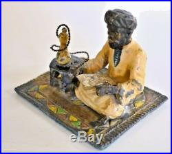 Vintage Franz Bergman Austrian Bronze Arabic Statue