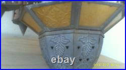 Vintage Islamic Brass Antique Mosque Lamp