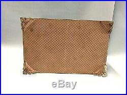Vintage Jewelry Box Inlaid Micro Mosaic and Bone Marquetry Persian khatam kari