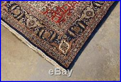 Vintage Mid 20thC Hand Woven Persian Orientalist Wool Rug, NR