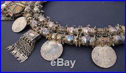 Vintage Omani Silver Necklace with Koran Box & Maria Theresia Marriya Mardusa