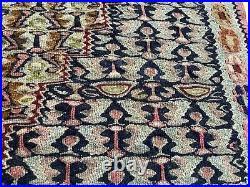Vintage Persian Senneh Kilim Runner Rug