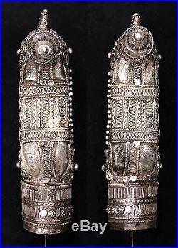Vintage Yemeni Gusbi Mecca Jambiya Khanjar Dagger Knife Arab Yemen Middle East