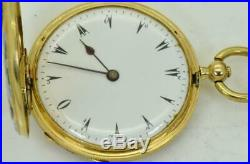 WOW! One of a kind antique LeRoy, Paris 18k gold&enamel watch for Ottoman maket