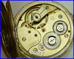 WOW! One of a kind antique Ottoman silver&enamel Ocean pocket watch c1890'a