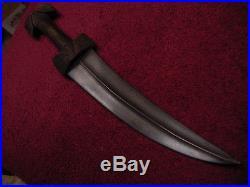 Wootz Balkin Khanjar Islamic dagger, no yatghan, Kard, or Killig