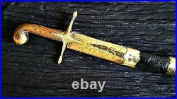 ++ antique Islamic Ottoman turkish Kilij sword saber Shamshir 19th Century ++
